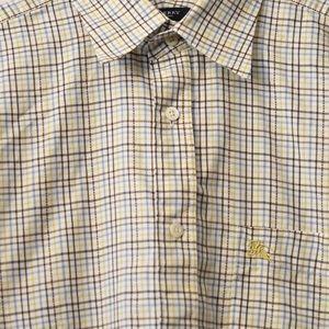 Men's Burberry London Shirt Size Large